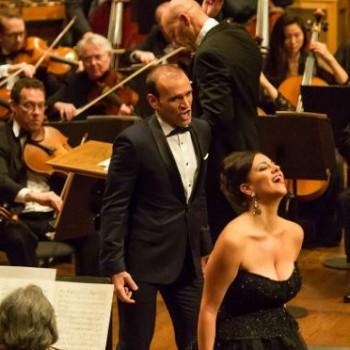 Joyce with tenor Michael Fabiano - Richard Tucker Foundation Gala
