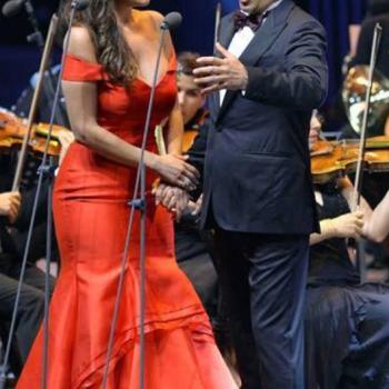 Joyce and tenor Juan Diego Florez, Beiteddine Festival, Beirut, Lebanon